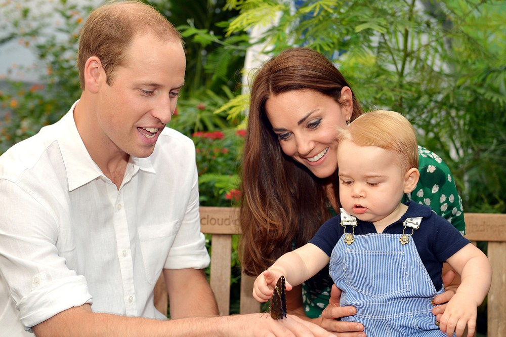 Prince William Prince George Kate Middleton
