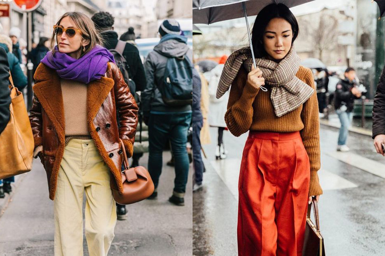 How To Wear a Scarf This Season