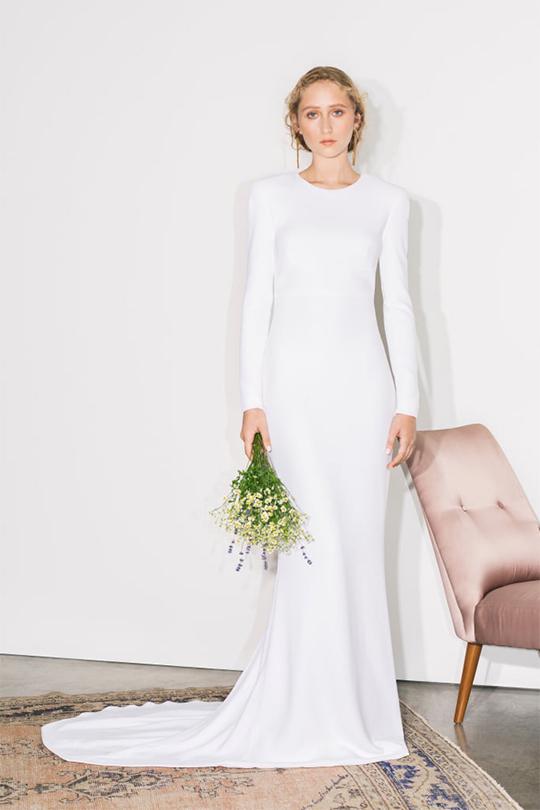 Meghan Markle  Wedding Dress stella-mccartney-bridal-collection-spring-2019