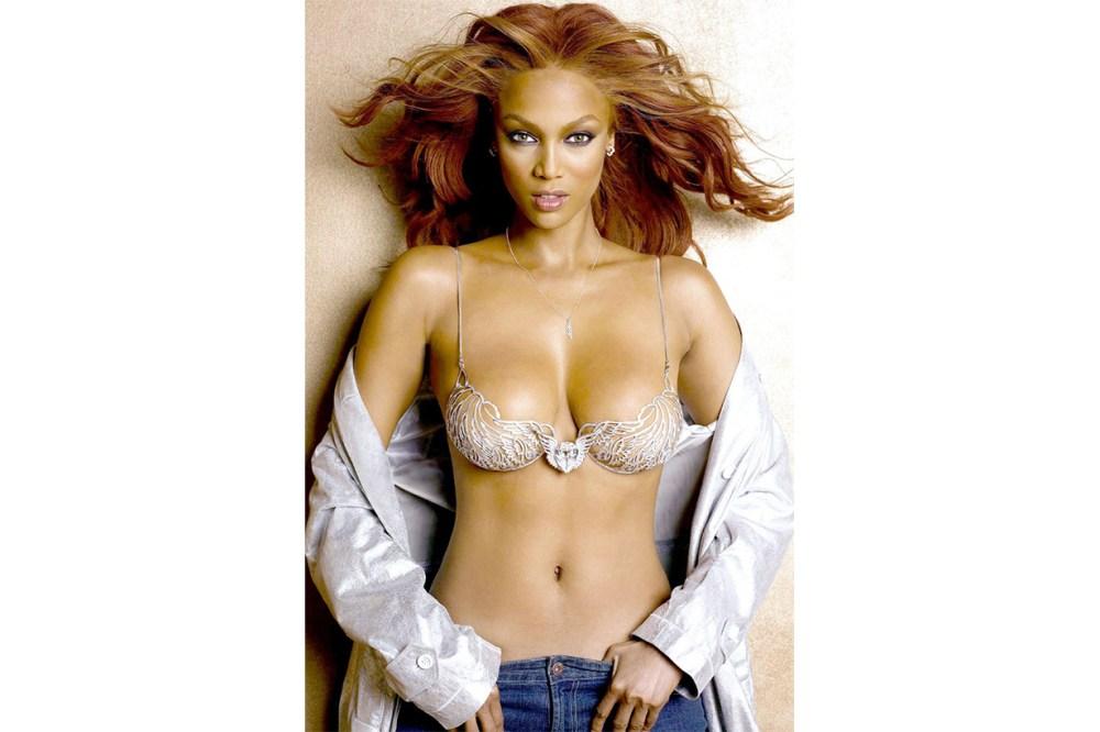"Tyra Banks in the ""Heavenly ""70."" Victoria's Secret Model"