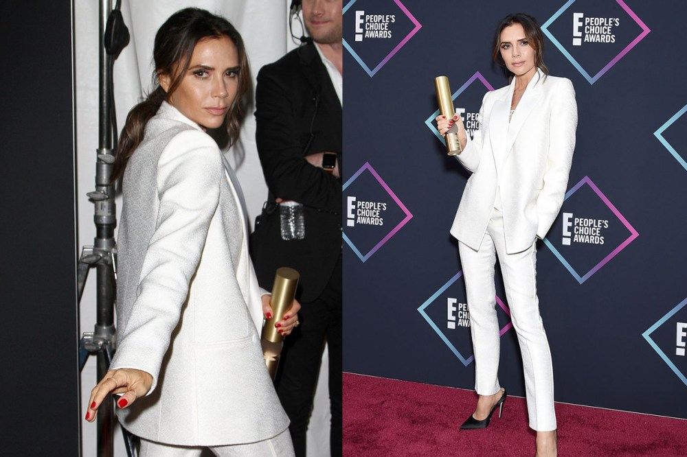 Victoria Beckham's Haircut People's Choice Awards