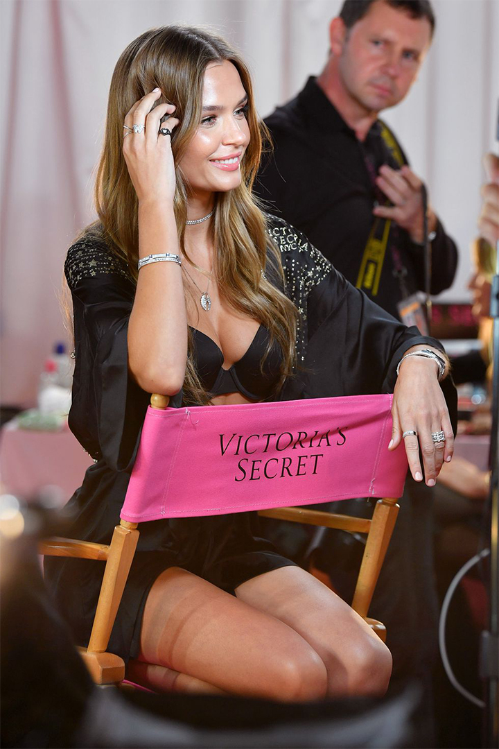 Victoria's Secret 2018 Backstage Models