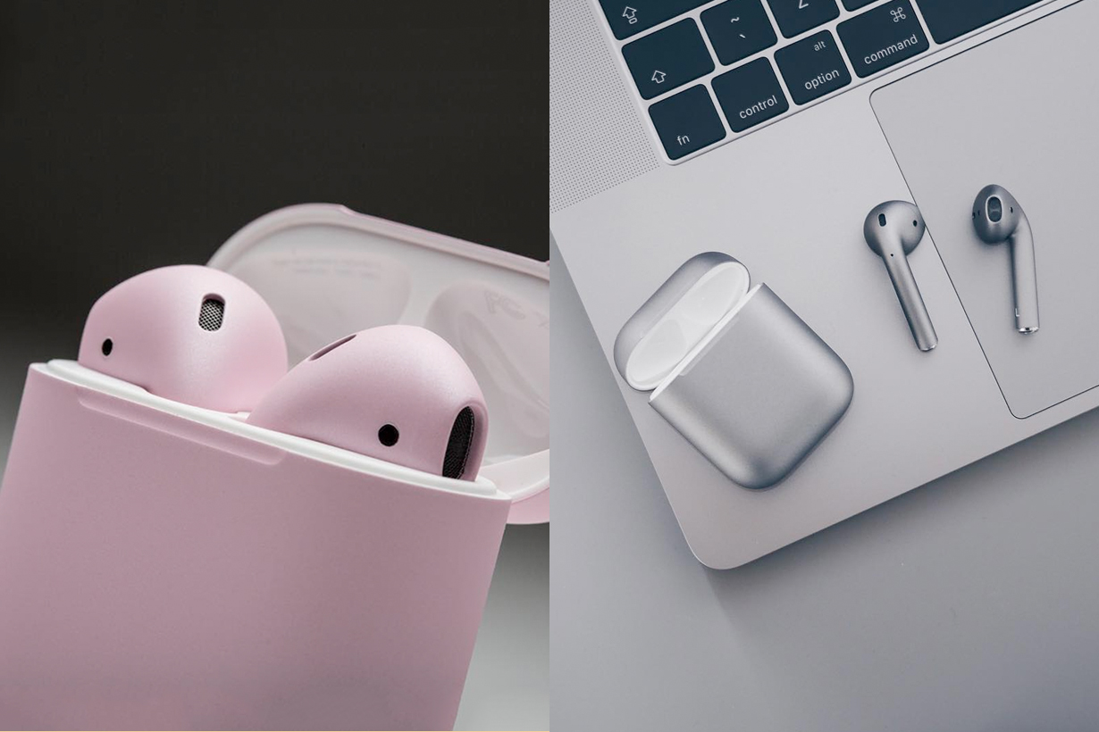 colorware airpods pink customize