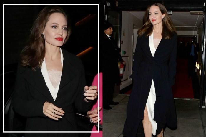 誰說隨性無法與優雅共存?Angelina Jolie 示範了風衣的完美搭法!