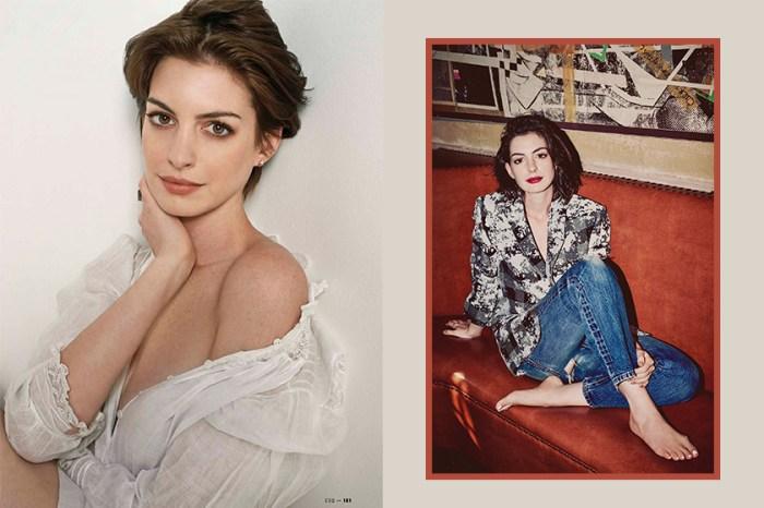 Anne Hathaway 換上甜美紅髮造型,網民大呼:「再次戀愛了!」
