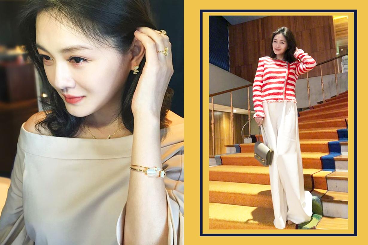 Da S Hsu Shi Yuan Barbie Hsu Charmaine sheh Sze Man chinese actress Taiwan actress makeup skincare show Sweat gland sweat tricks