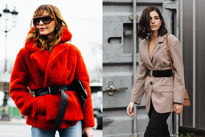 belt coat styling tips