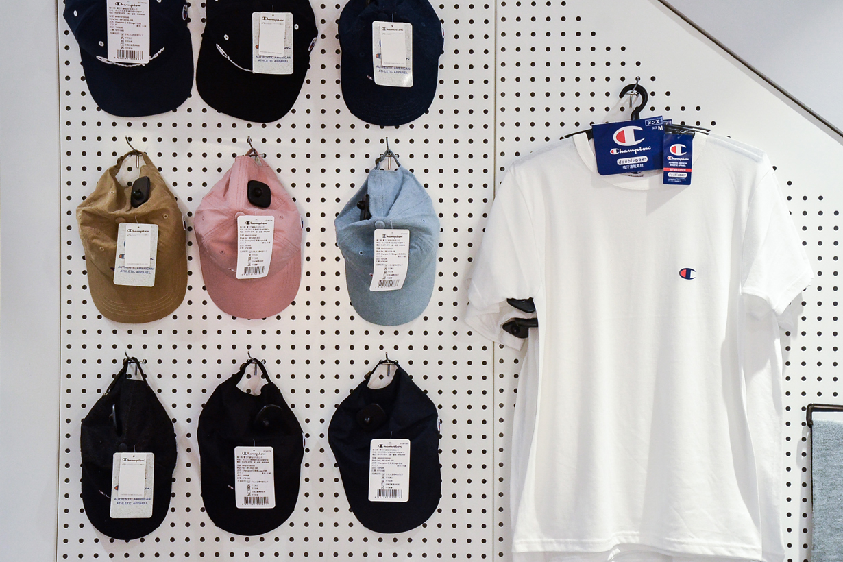 Champion flagship store taipei  Ximending new open