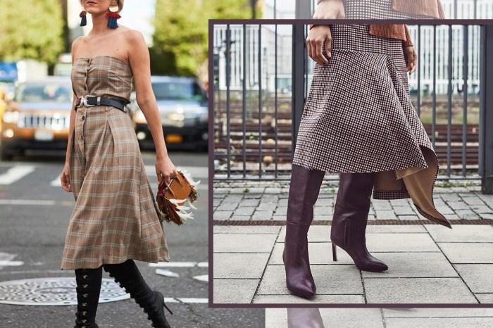 讓我們用 10 張街拍照說服你,今季買一條格仔連身裙吧!