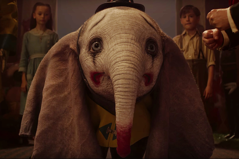 disney dumbo film trailer tim burton