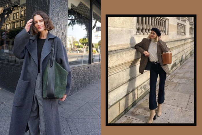 集齊法國女生冬季必備的 9 大百搭單品,你也能輕鬆混搭出不敗的法式時尚造型!
