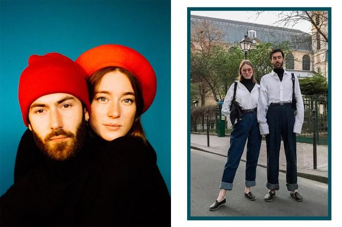 法國也有情侶裝 IG!這對法國戀人都是藝術家:「透過襯衣表達愛意」