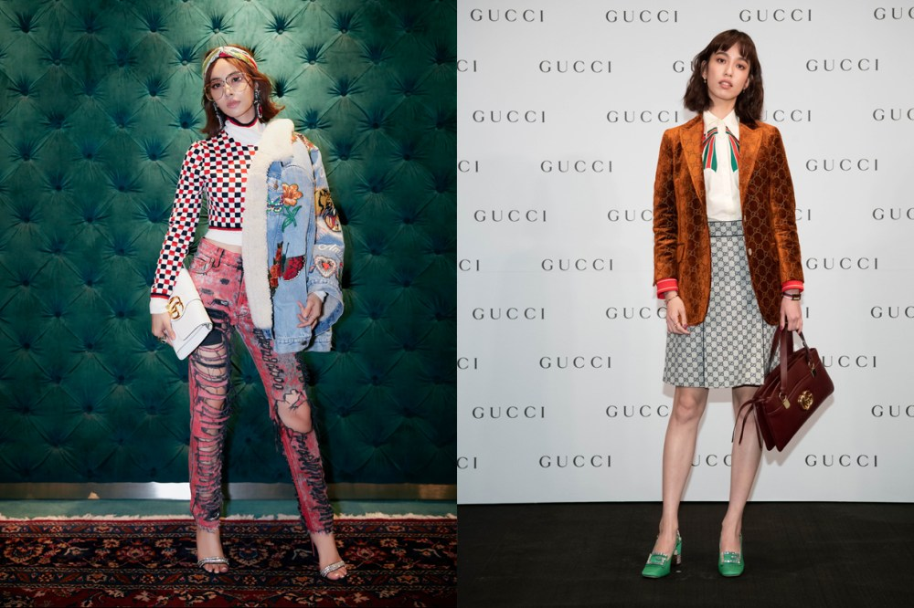 gucci a4 molly chiang bonb chen how to style