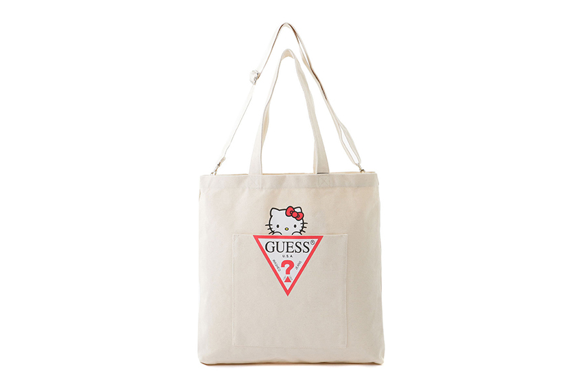 GUESS X hello kitty crossover