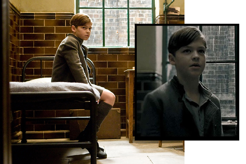 harry potter young Tom Riddle cast Hero Fiennes-Tiffin