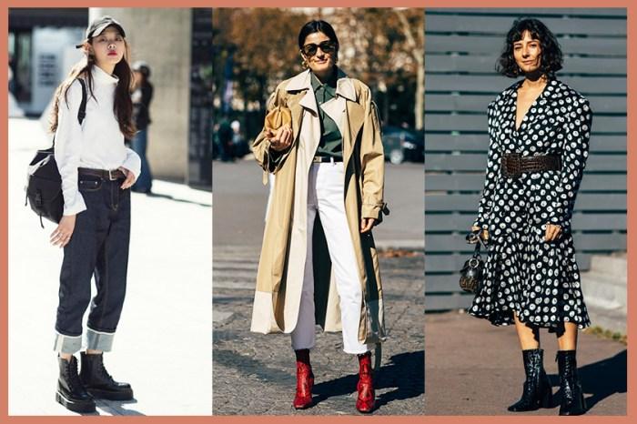 最強秋冬造型靈感集:50+ Ankle Boots 街拍造型,助你時尚地由秋季過度至冬季!