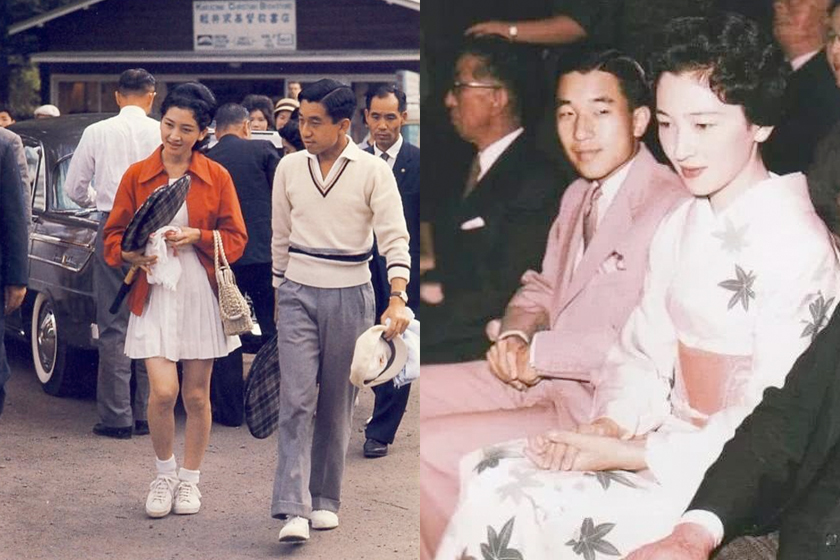 japan royal family Akihito machiko love story behind break rules