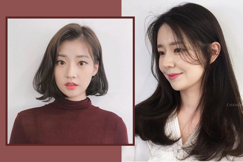 korean girl hairstyles instagram chahong.review_official