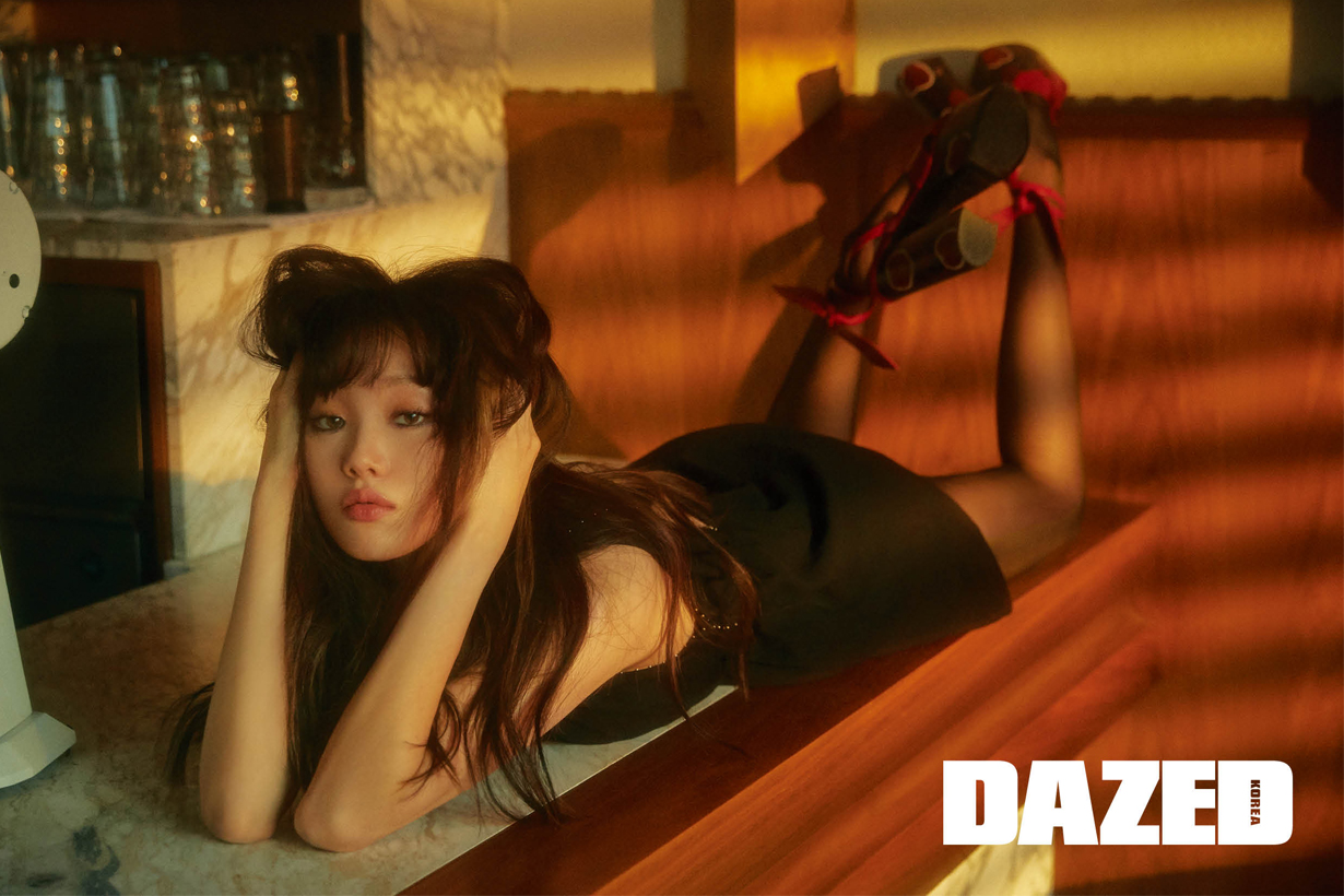 Lee sung kyung dazed korea editorial 2018 november Saint Laurent by Anthony Vaccarello acting interview celebrities style