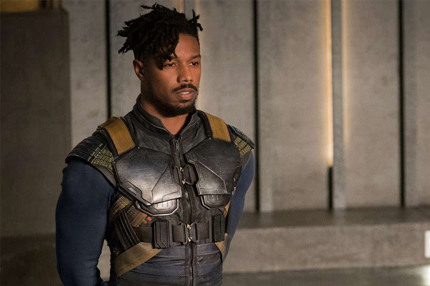 marvel black panther Michael B. Jordan return