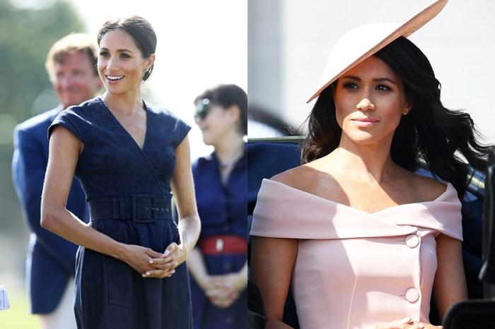 對於衣服,王妃是挑剔的!梅根說這個知名品牌的裙子她不會穿⋯⋯