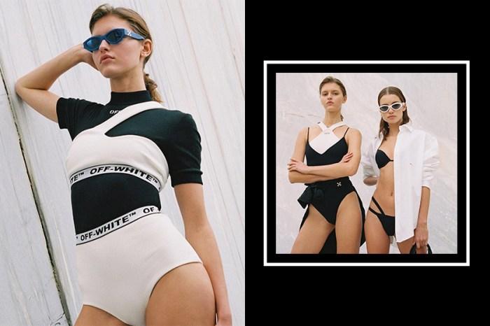 復古與現代融合:Off-White 最新泳裝系列,以獨特剪裁設計表現簡約也是一種性感!