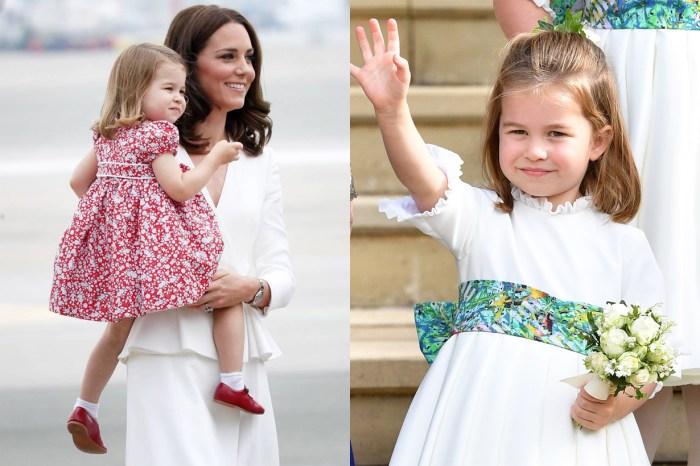 「看她就知夏洛特將會多漂亮!」到底是誰的童年照能擁有小公主的影子?