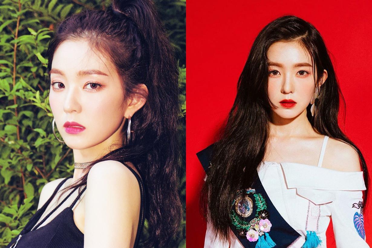 Red Velvet Irene non photoshopped no filter airport fashion photo skincare skin condition korean girls skincare routine k pop korean celebrities idols