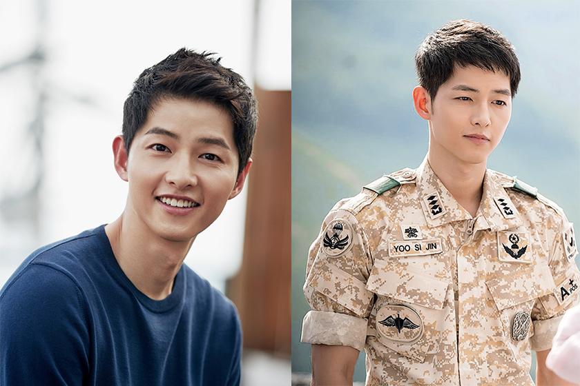 song joong ki new curly hair style