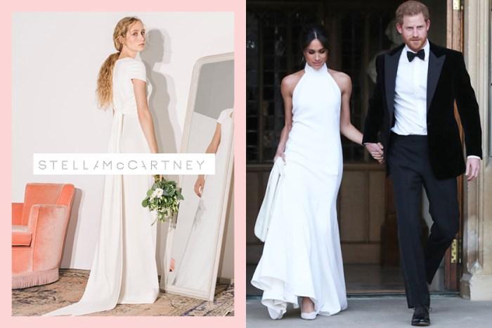 梅根也是披著它出嫁:Stella McCartney 首個婚紗系列曝光,氣質滿分!