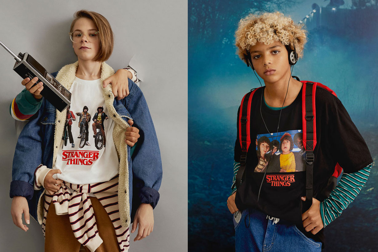 Pull & Bear Stranger Things collection 2018