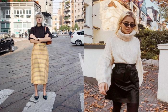 向 IG 穿搭達人偷師「這個小技巧」,針織毛衣的穿法又更多樣化了!