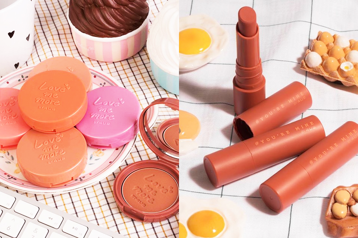 4U2 Thailand Cosmetics brand Korean makeup trend blush lipsticks eyeshadow