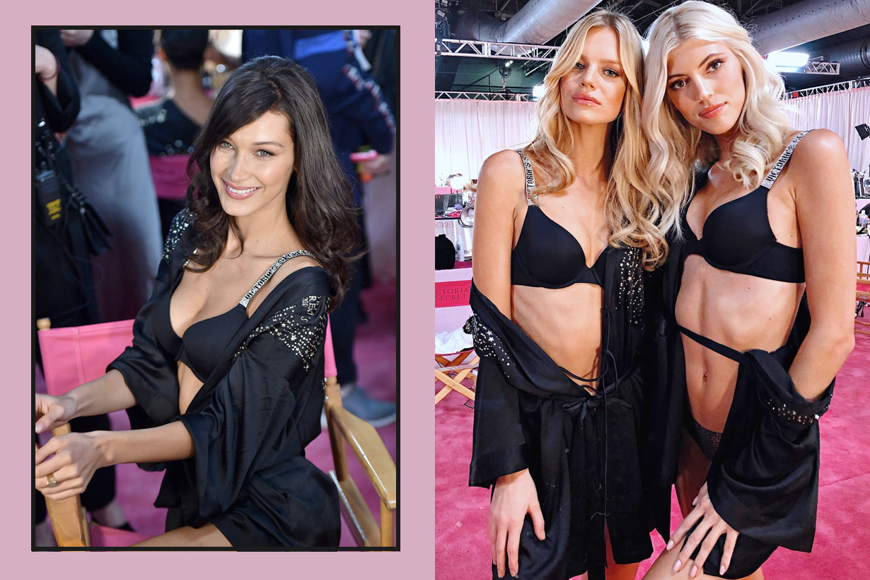 Victoria's Secret 2018 thing before prepare treatment massage last min