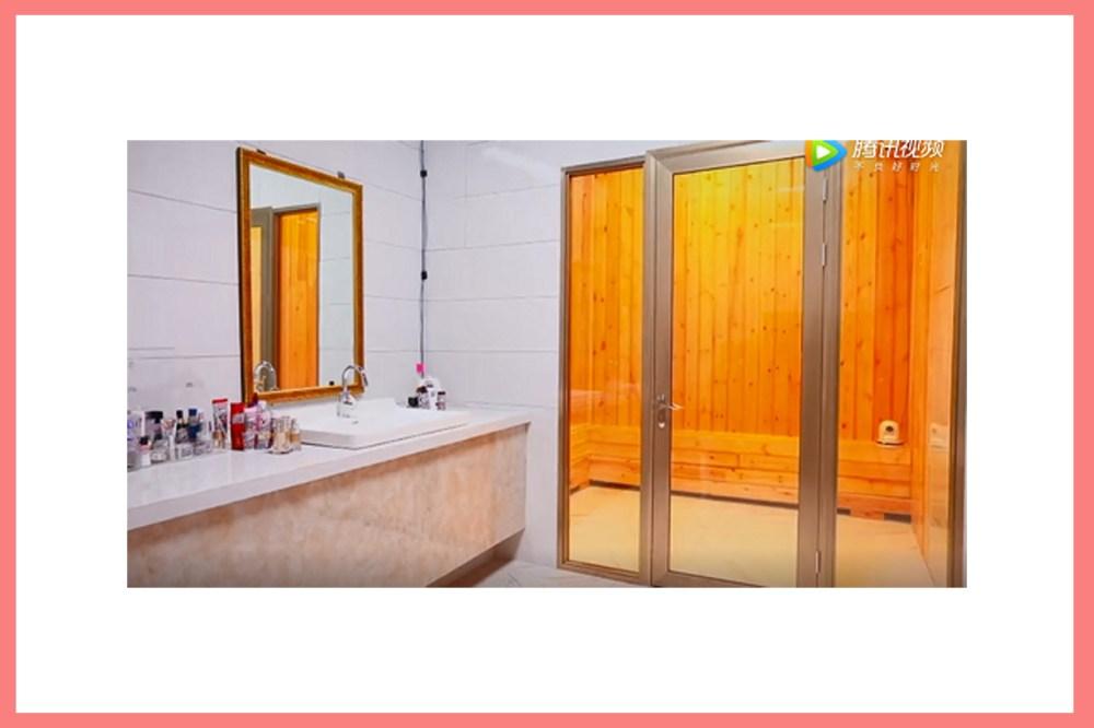 Zhang Jia Ni Barbie Hsu Chinese Actress Yan Xi Gong Lue Keep Fit Lose weight Tips sauna han jeung mak bathroom