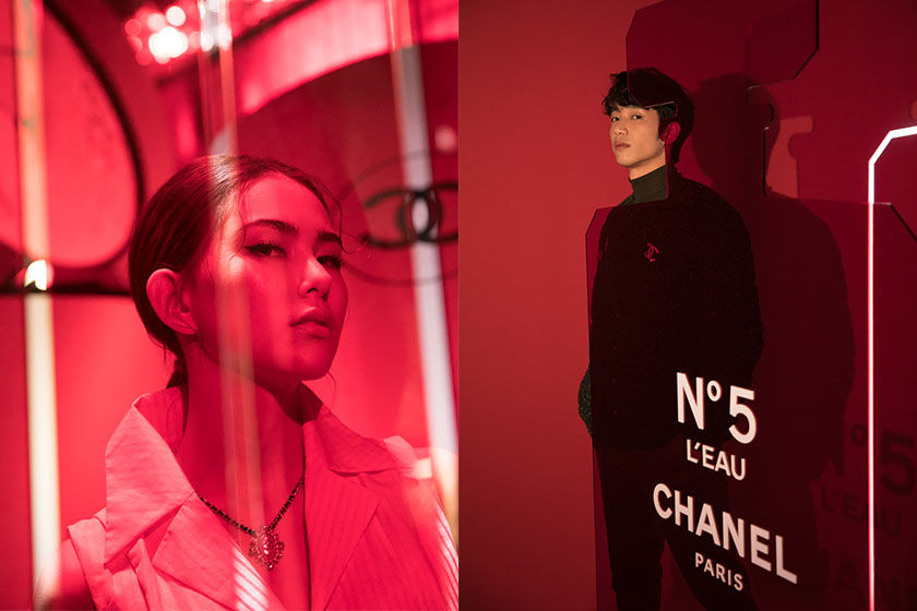 Coco Chanel Le Rouge Nº5 exhibition Taipei