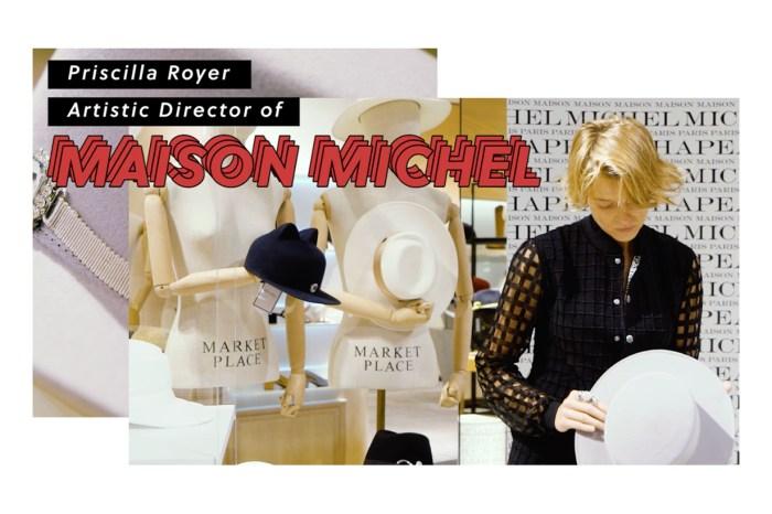 連 Chanel 也要羅致旗下的帽子工藝坊!專訪 Maison Michel 的設計總監 Priscilla Royer
