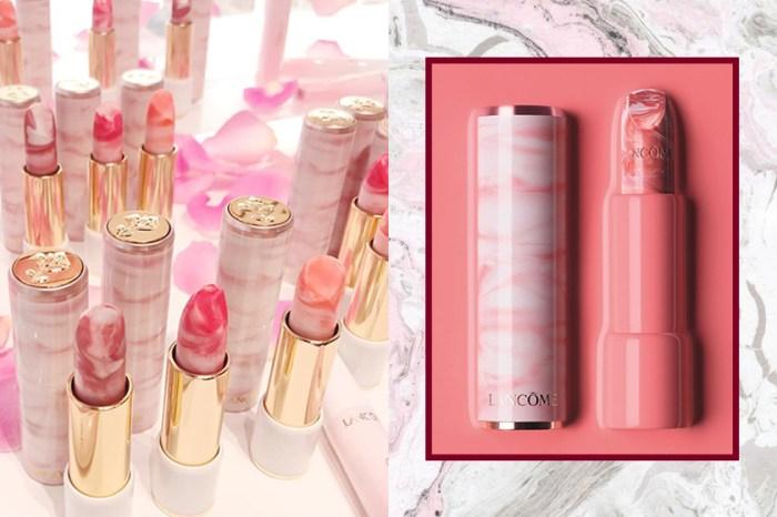化妝袋裡最美的潤唇膏是你?Lancôme「玫瑰大理石紋」唇膏實品曝光!