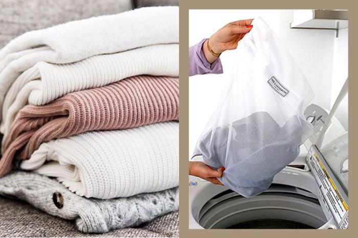 原來毛衣其實更適合水洗?學會這幾個保養技巧你可以不用再去乾洗店!