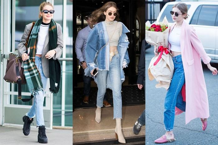 有了它們能撐起整個秋冬穿搭:從 Gigi Hadid 身上偷師三個實用穿搭單品!