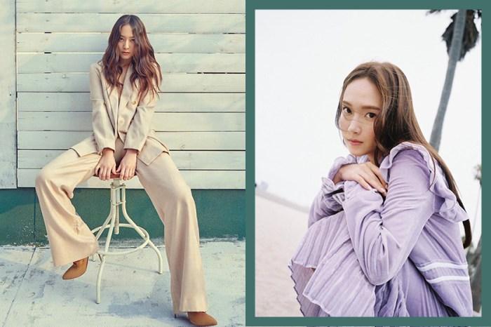 鄭氏姊妹合體現身!Jessica、Krystal 出鏡拍攝《NYLON》最新一期封面曝光!