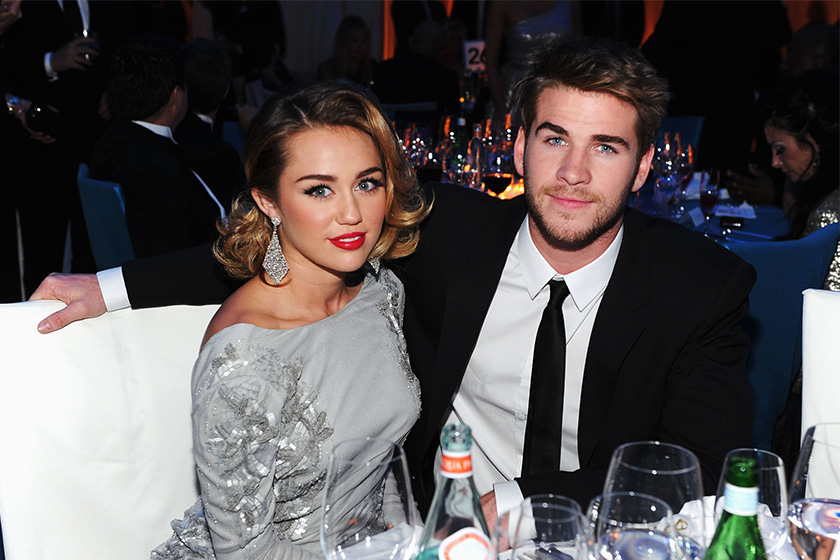 Miley Cyrus Liam Hemsworth  secretly marry Couple Marriage