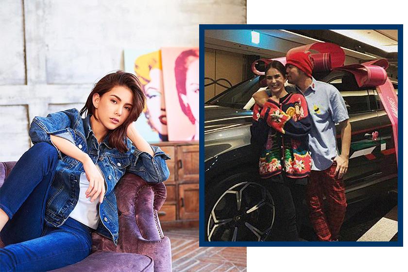 Hannah Quinlivan Jay Chou Christmas Party Lamborghini gossip