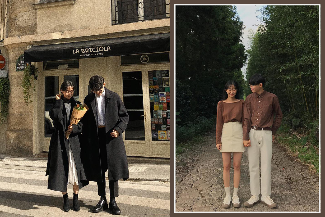 Korean Couple Style Instagram Outfit IG