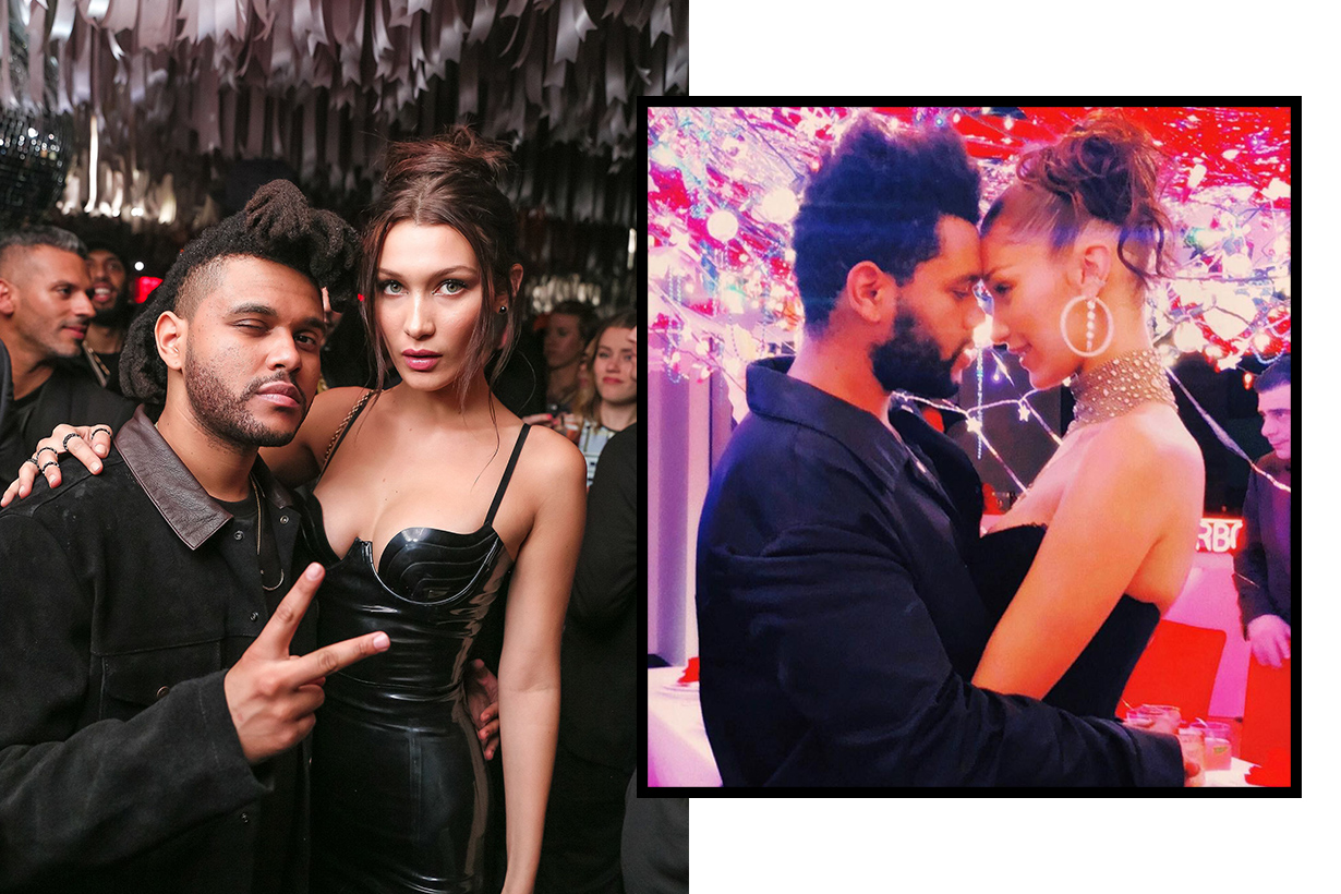 Bella Hadid The Weeknd Celebrities Couple Concert