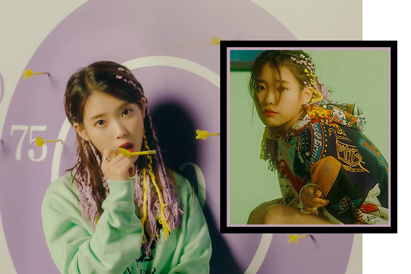IU BBIBBI Braids Hairstyle 2018