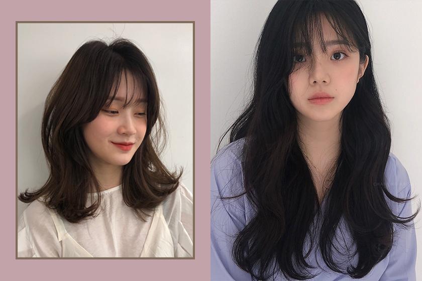Korean Hairstyles Tips DIY Bangs Haircut 2018