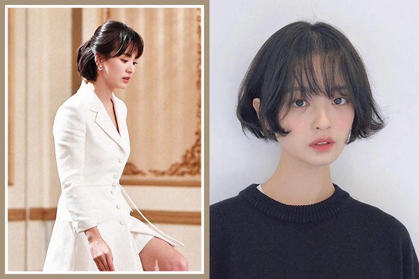 korean drama Boyfriend Hyekyo Song Hairstyles Idea