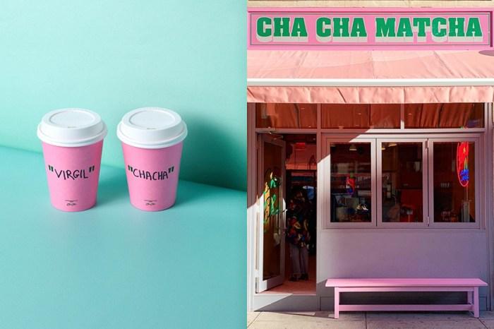 Virgil Abloh 這次與紐約知名抹茶店合作,除了服飾外這些療癒小物讓少女心爆棚了!