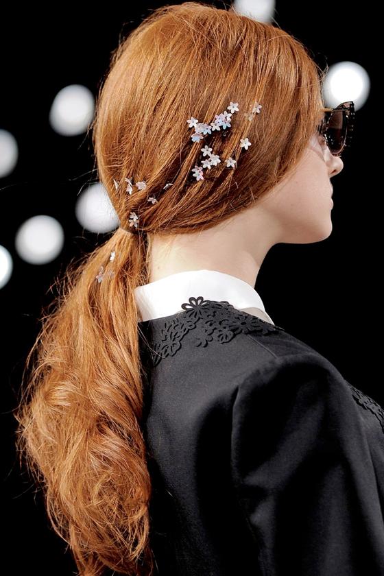 bridal hairstyle inspiration runway celeb wedding